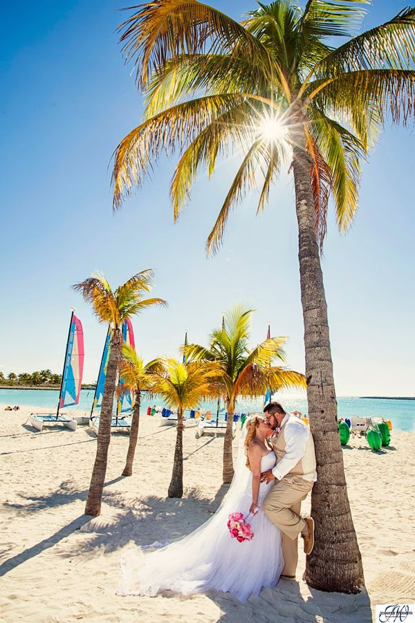 Disney Cruise Wedding on Castaway Cay: Leora + Matthew                                                                                                                                                                                 More