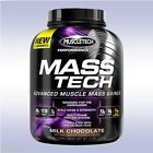 MUSCLETECH MASS TECH (7 LB) muscle whey protein weight gainer hard creatine bcaa7  Expiration Date - At least one year from date of purchase, Formulation - Powder, Nutritional Ingredients - Protein, Supplement Purpose - Mass Gainer, Form - Powder, Model - 7 lb