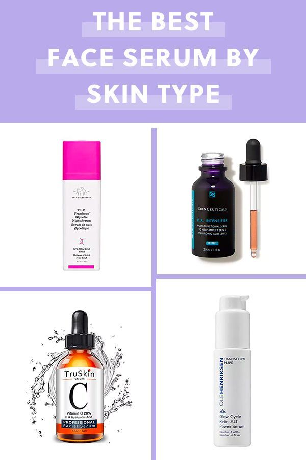 The Best Face Serum For Your Skin Type Purewow Skin Bundle Beauty Skincare In 2020 Best Face Serum Face Serum Best Face Products
