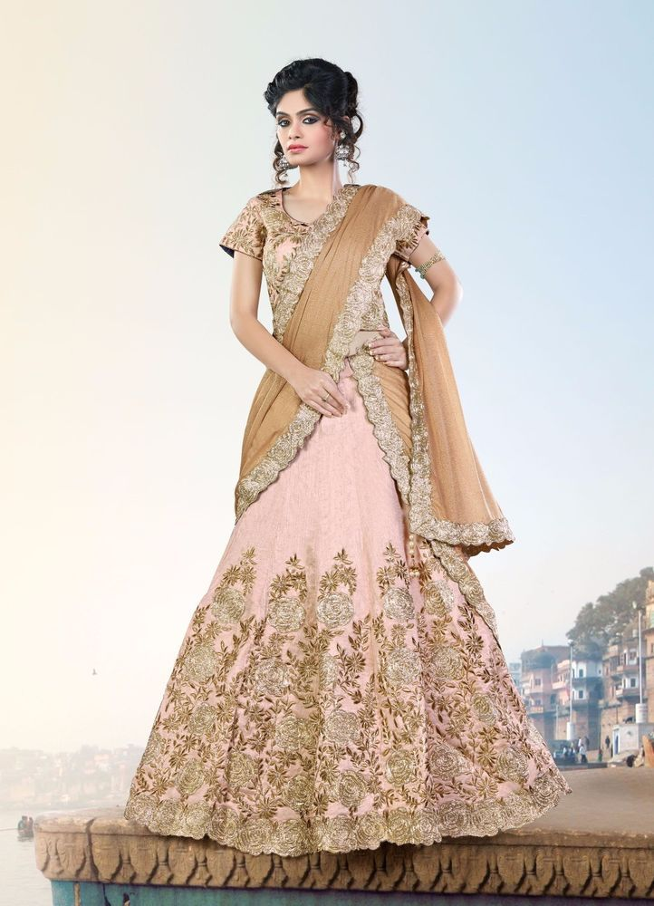 Pakistani Traditional Lehenga Wedding Choli Bridal wear Indian Ethnic Bollywood #TanishiFashion