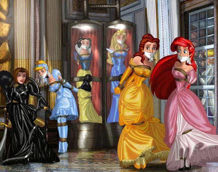 Fnaf Kidnapped Princess Deviantart: Disney Princess Captured