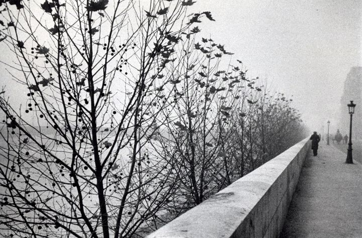 The Quais at early morning, Paris by André Kertész • 1929 • As part of the Bruce Silverstein Gallery — Estate of André Kertész (1925-1930: Paris)De André, Ears Mornings, White Photography, Andre Kertesz, Early Mornings, André Kertész, Photographers André, Kertész 1894, Beloved Photos