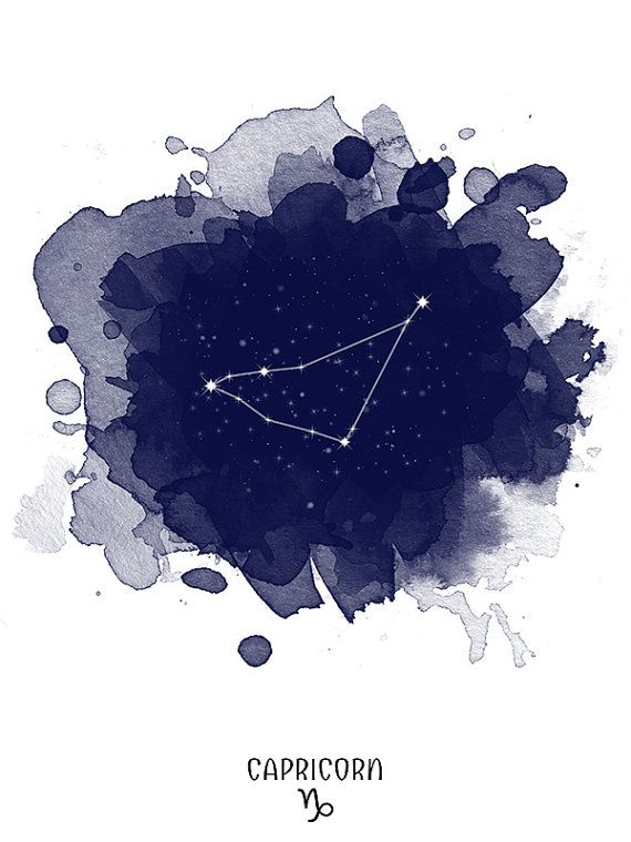Capricorn Constellation Capricorn zodiac Zodiac by TelleQuelle