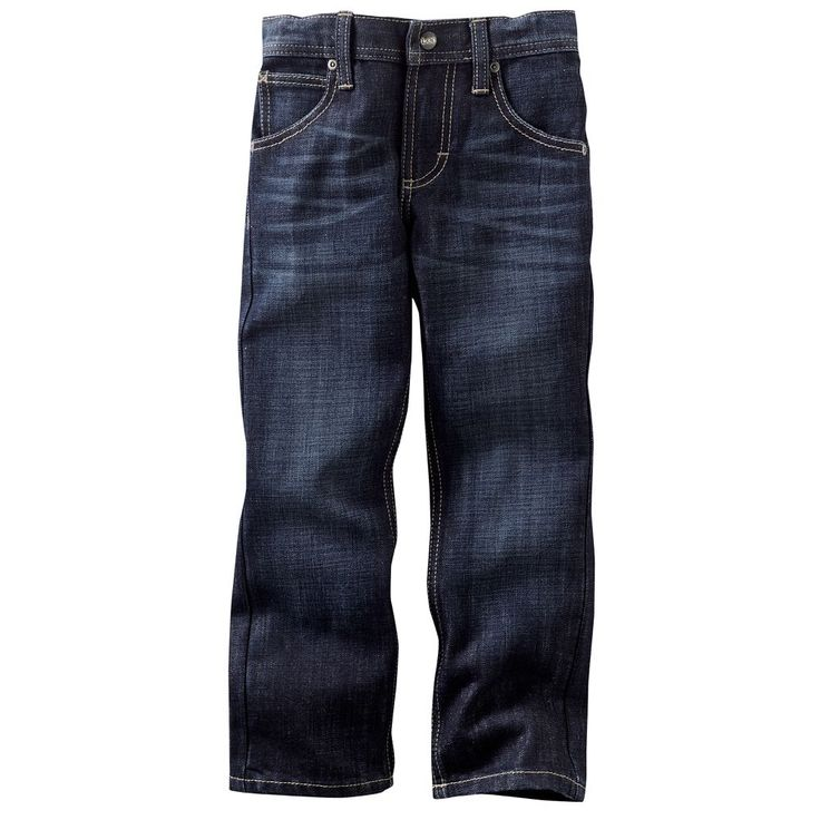 Boys 4-7x Lee Dungarees Skinny Jeans, Size: 7X, Blue