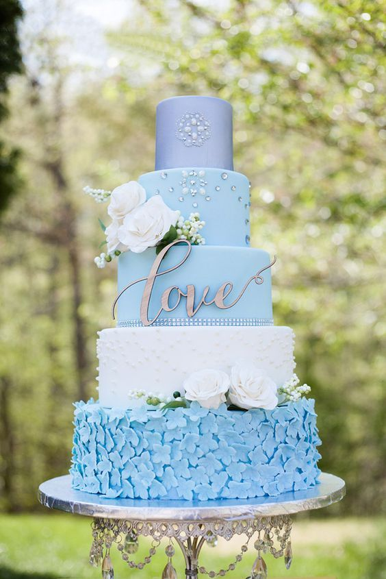 Beautiful Blue Themed Love Wedding Cakes! Blue Wedding | Dark Blue Bridal Earrings | Blue Wedding Jewelry | Spring wedding | Spring inspo | Blue | Dark Blue | Spring wedding ideas | Spring wedding inspo | Spring wedding mood board | Spring wedding flowers | Spring wedding formal | Spring wedding outdoors | Inspirational | Beautiful | Decor | Makeup | Bride | Color Scheme | Tree | Flowers | Wedding Table | Decor | Inspiration | Great View | Picture Perfect | Cute | Candles | Table Centerpiece…