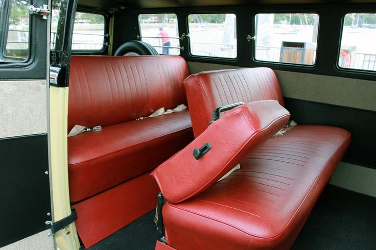 Definitely one of the best 13 Window buses available! With restoration finished only a couple months ago this Kombi spent the summer in Carlsbad, California before being  shipped to Sydney.