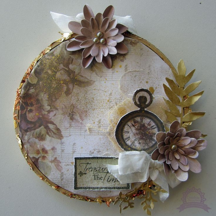 Couture Creations: Just Add Metallics by Kerrie Gurney | #couturecreationsaus #offthepage #embroideryhoop #decorativedies #heartsease