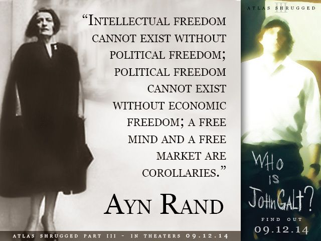 Atlas Shrugged: Who is John Galt? hits in theaters Sept 12th
