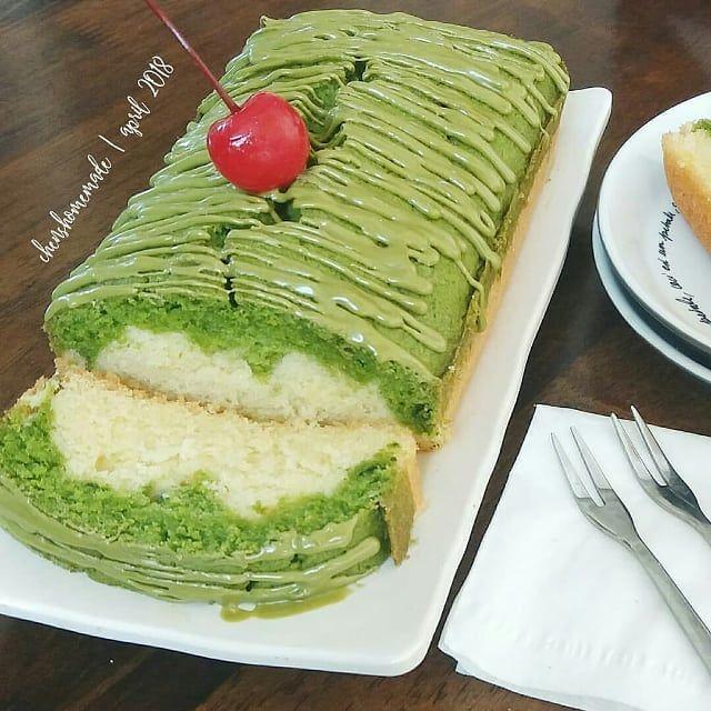 Matcha Pound Cake By Ciciliachens Source Mba Ayudiahrespatih Ijin Nyontek Mba Makacii Bahan2x 120 Gr Butter 120 Gr Gula Pas Matcha Gula Resep Kue