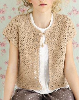 Crochet sweater - free pattern