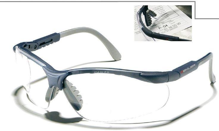 Ochelari de protectie Zekler 55 cu lentile incolore.