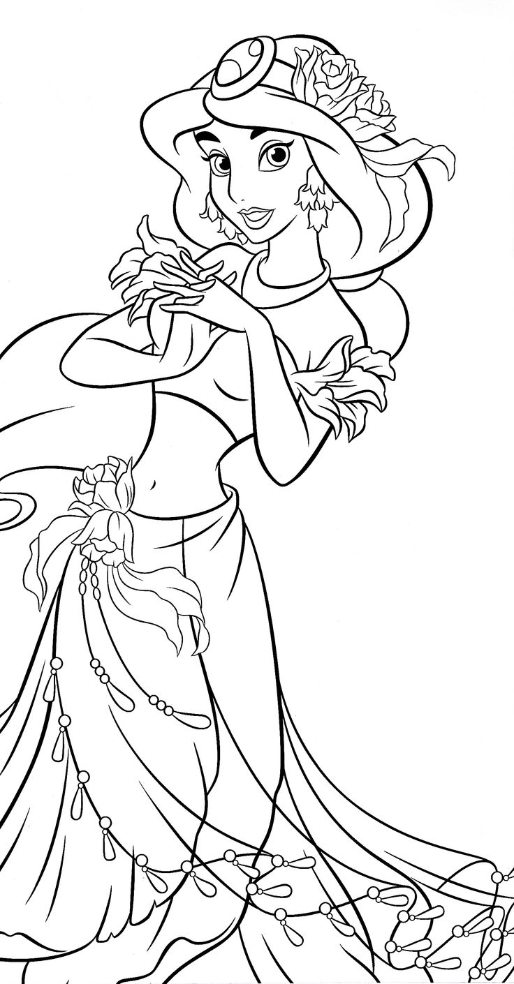 26 best Disney Aladdin Coloring Pages images on Pinterest ...