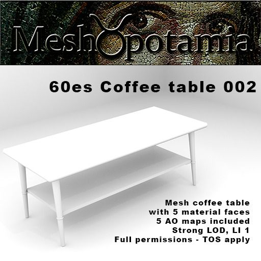 Meshopotamia 60s Table 002