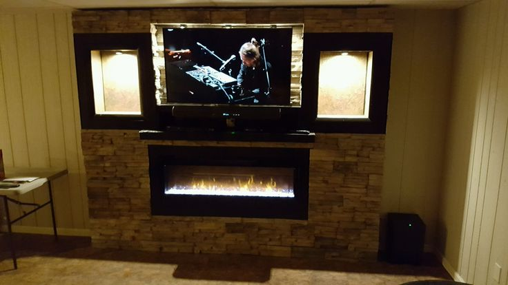 This Dimplex is a beautiful example the work done by our installers - the #1 fireplace install team in the Rocky Mountain Region. #dimplex #fireplace