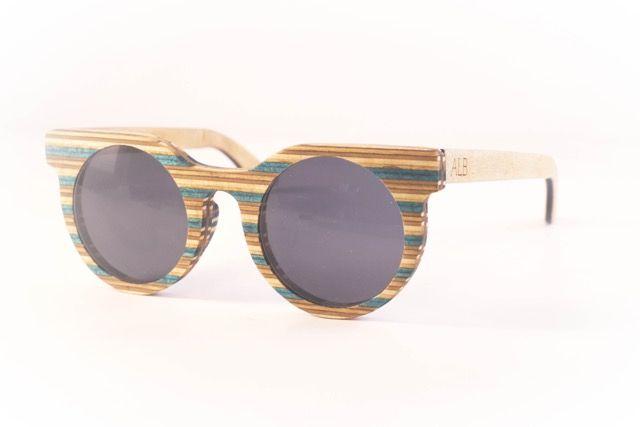 Atelier La Bûche - Paire n°1 #skatesunglasses #Wood #Sunglasses #Bois #lunettes #design #Nantes