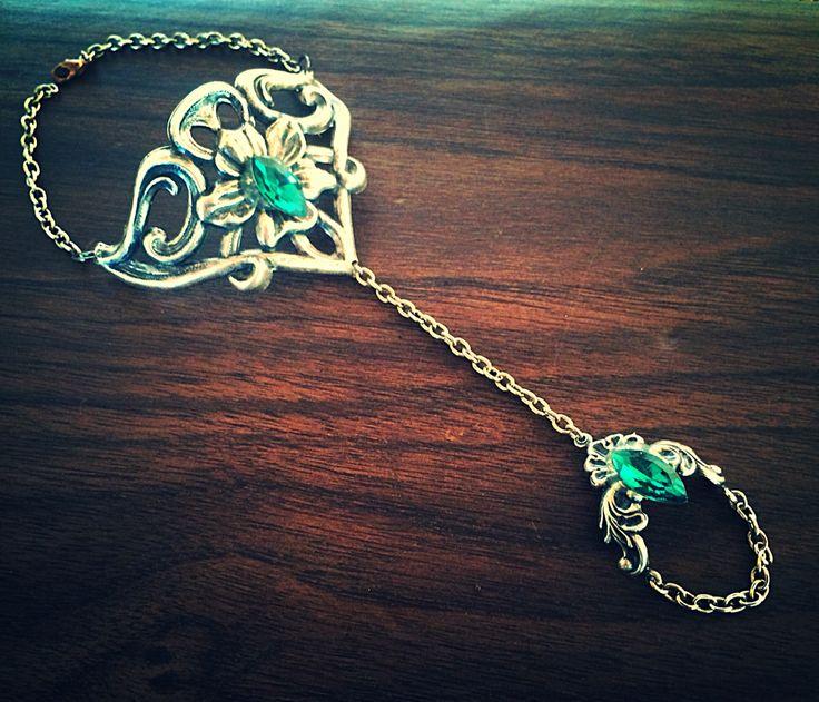 Elven Touch - chain bracelet by InspiredCPH