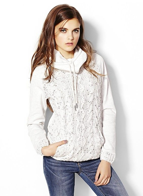 Sweater Mix Hoodie