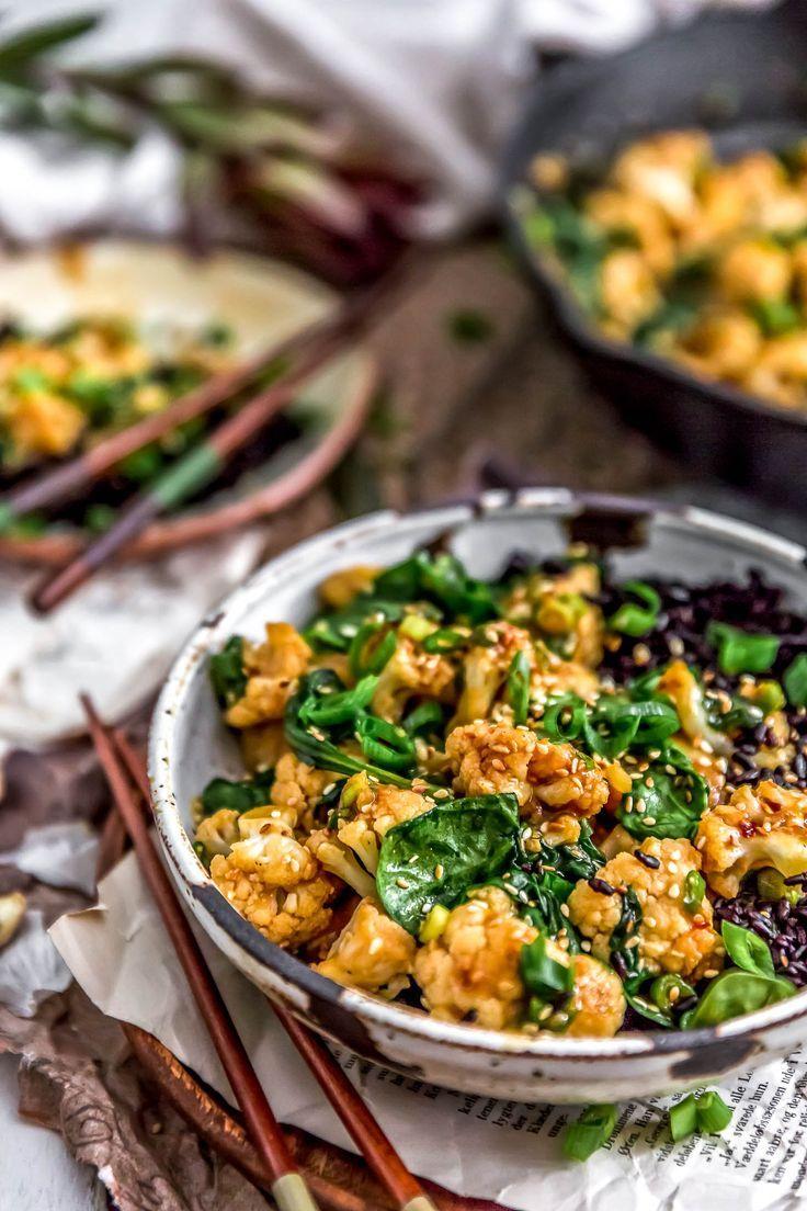 Vegan Korean Bbq Cauliflower