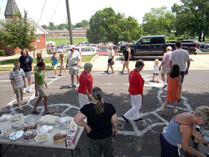 cake walk fundraiser