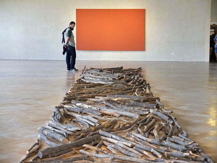 Richard Long, Wood Line (1978)
