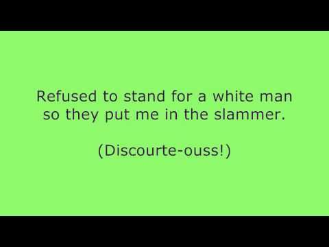 Horrible Histories Rosa Parks Equality song + Lyrics HD - YouTube