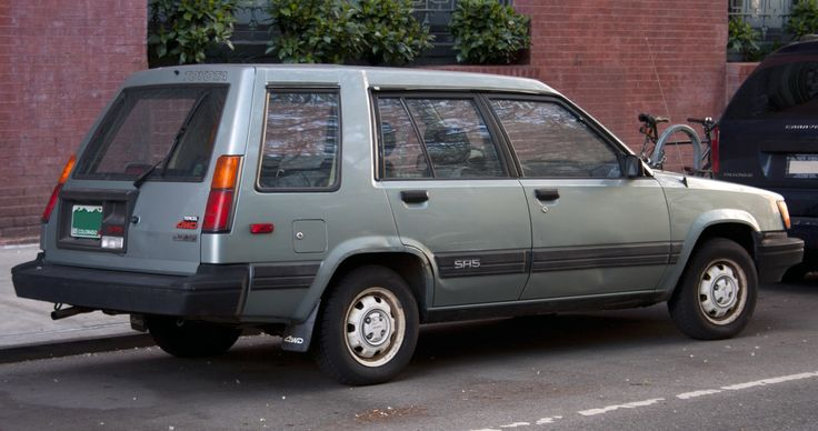 Toyota Tercel Wagon SR5 4WD