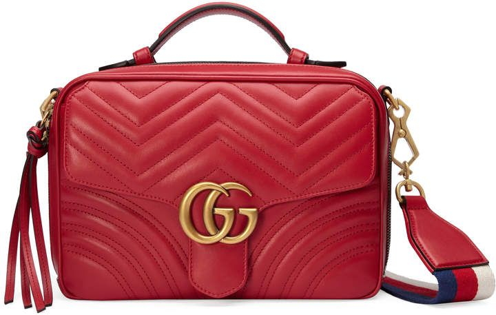 a3be4f2f903 Shop for GG Marmont small shoulder bag by Gucci at ShopStyle.com ...