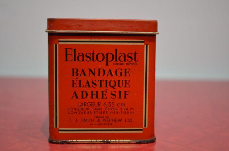 Elastoplast Elastic Adhesive Bandage Tin http://cnctbay.wix.com/crowe-s-nest