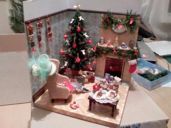 12 scale commission - Christmas scene