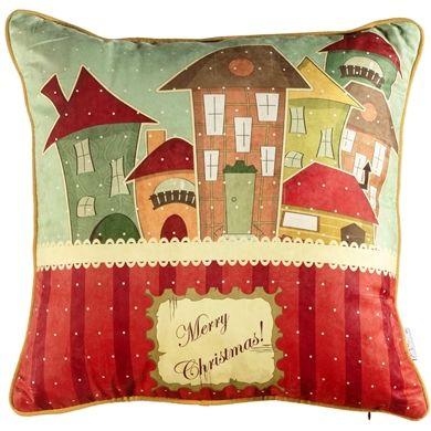 Apolena Mutlu Noeller Dekoratif Yastık _ Netlence.com