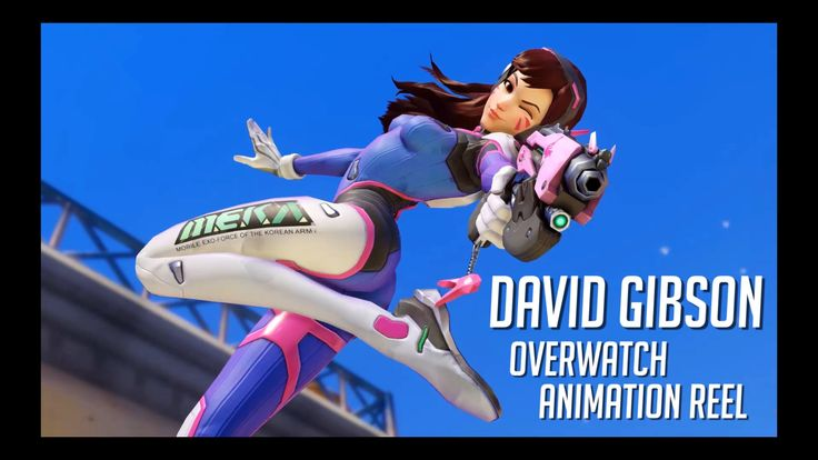 David Gibson - Overwatch Animation Reel - @poodletime