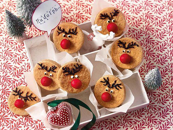 Weihnachtsplätzchen für Groß und Klein - Karamell-Rudolphs  Rezept