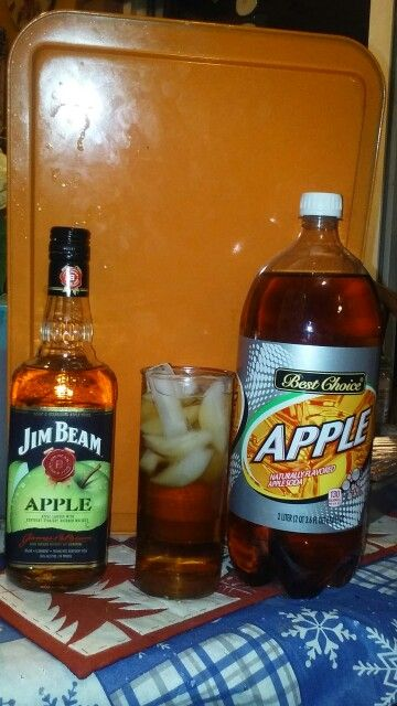 Jim Beam Apple And Apple Soda! My New Fave Drink