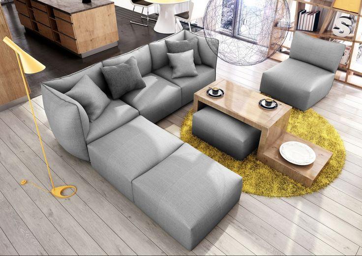Corso 2 sz kanapé fotel szürke