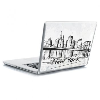 Αυτοκόλλητο laptop New york