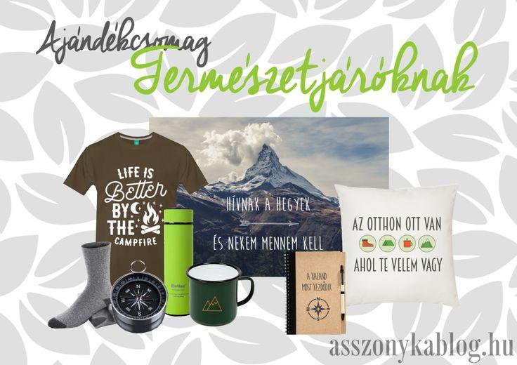 Giftbox for hikers. Ajándékcsomag természetjáróknak.