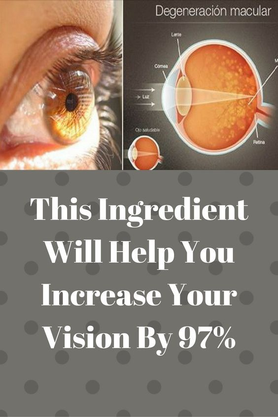 This Ingredient Will Help You Increase Your Vision By 97%