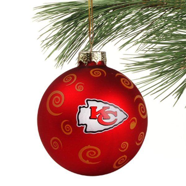 Kansas City Chiefs Christmas Ornament