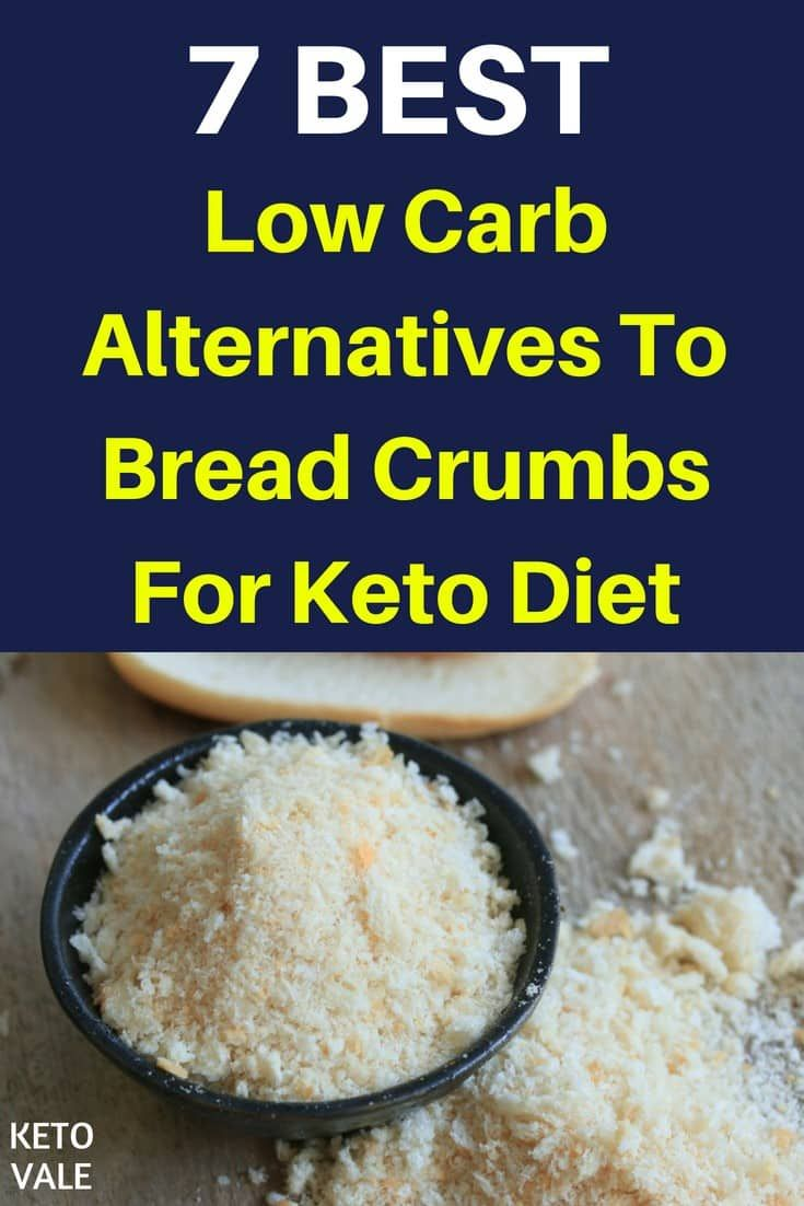 7 Best Bread Crumbs Substitutes For Ketogenic Diet Bread Alternatives Substitute For Bread Crumbs Carb Alternatives