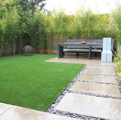 great, small backyard