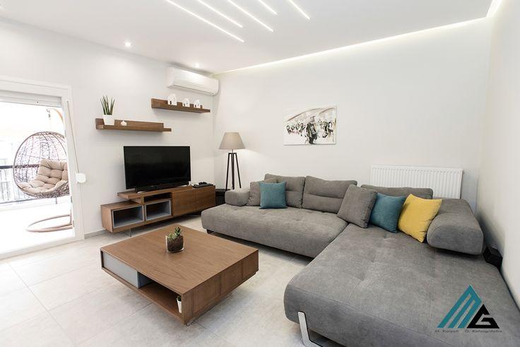 ανακαίνιση και διακόσμηση διαμερίσματος στη Λάρισα- construction and design- bymg