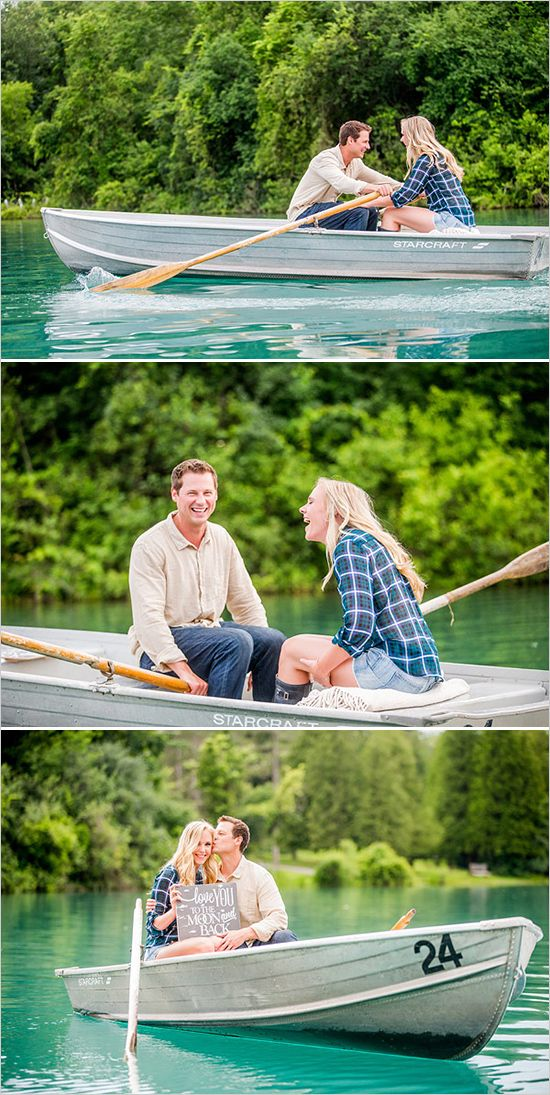 fun engagement photo idea. #engagementphoto http://www.weddingchicks.com/2013/12/11/private-picnic-engagement-session/