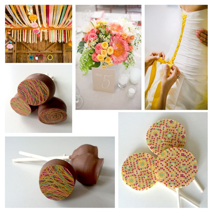 Colorfull design wedding chocolate package gifts