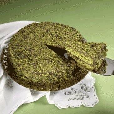 Sicilian pistachio cake - Torta al pistacchio di Bronte