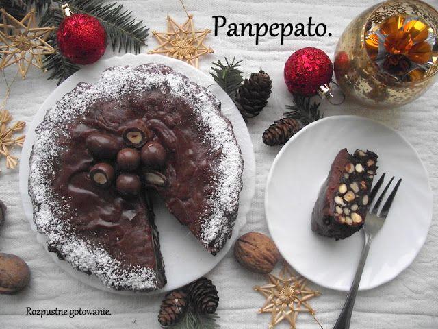 przepis na pyszne włoskie ciasto korzenne z orzechami i bakaliami