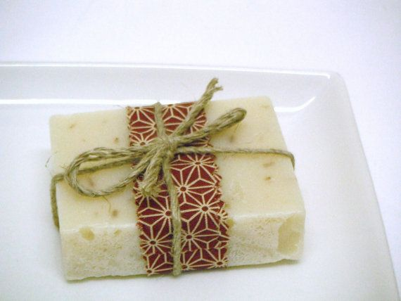 Lavender Organic Soap  set of 4 handmade soaps by botanicalsoap