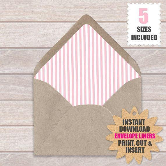 47 best Envelope Liners images on Pinterest Envelope liners - sample envelope liner template