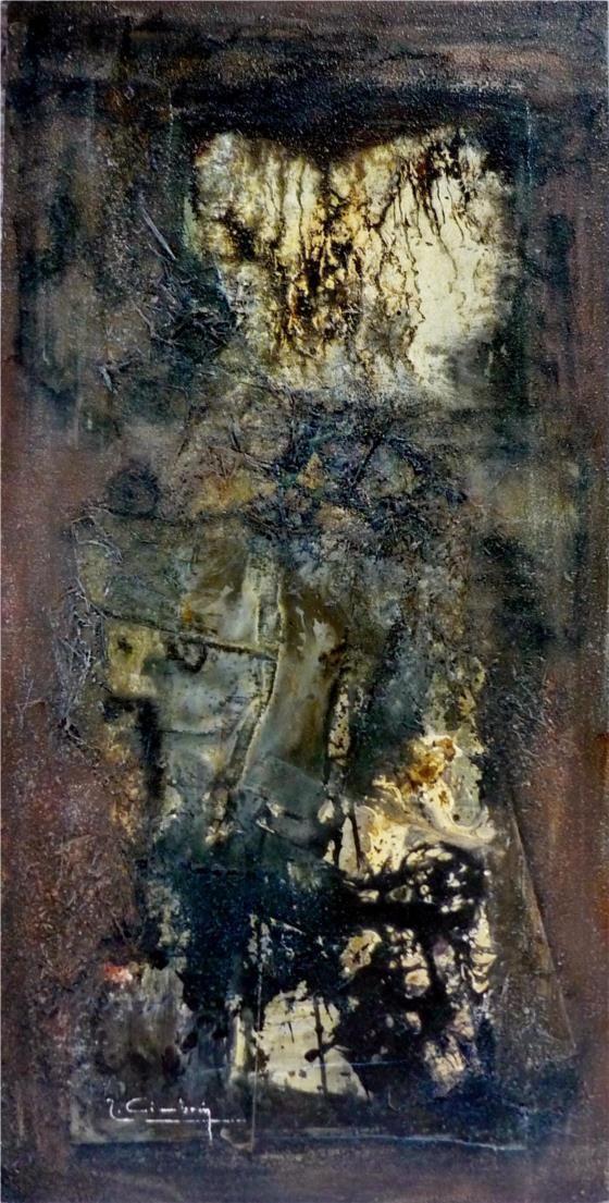 """Miguel Robledo Cimbrón: """"Paz en la Oscuridad"""" (2011) - Subasta Real"""