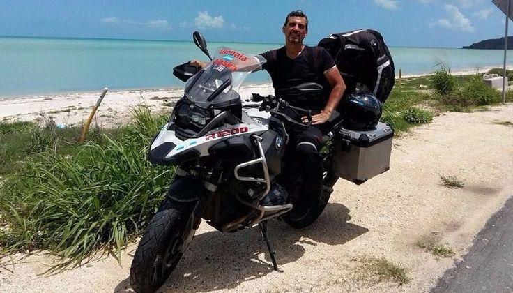 De Ushuaia a Alaska en moto: el viaje de un salteño: En 75 días, Miguel Lerma recorrió 15 países con su compañera de dos ruedas.…