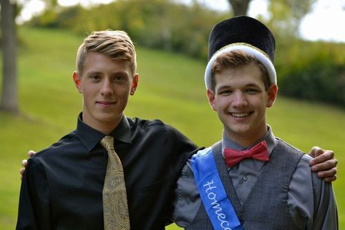 GAY SOCCER PLAYER COMES OUT TO WEST VIRGINIA HIGH SCHOOL BY DANCING WITH HOMECOMING KING